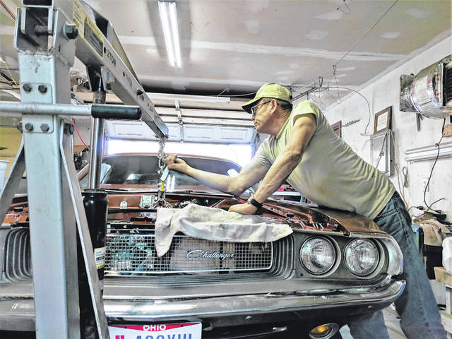 Photos courtesy GCCC When not restoring order at a GCP&T park or paved trail site, GCP&T Park Ranger Sgt. Darrell Hannah can be found restoring his 1970 Dodge Challenger.