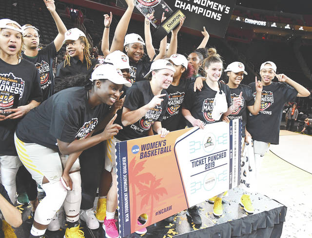 Members of the Wright State women's basketball team officially punched their ticket to the NCAA women's national basketball tournament on Tuesday, March 12, in Detroit, the school's second trip, ever, to the Big Dance.