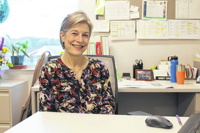 Anna Bolton | Greene County News Nancy Cohen, Greene County Public Health's WIC dietitian, breastfeeding coordinator and lactation consultant, retired April 12 after 34 years of service to county families.