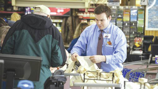 Nick Moshos still bags groceries at Dot's from time to time.
