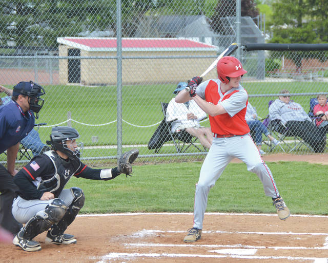 Cedarville sophomore Caleb McKinion won the 2019 Greene County area high school baseball batting title with a .513 average during the regular season.