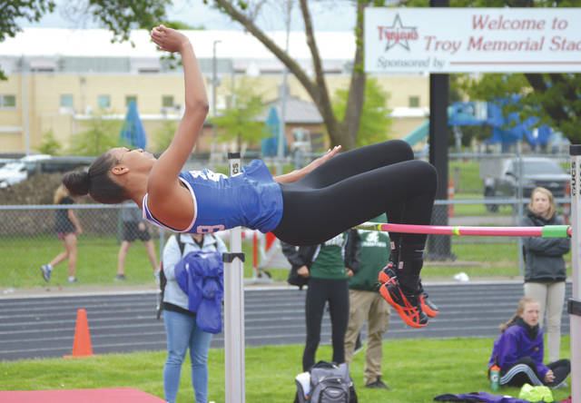 Sophomore high jumper Reaghan Wakefield is the lone Xenia Buccaneer to qualify to this year's Division I state track and field meet.