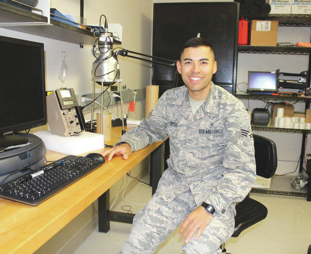 Submitted photo After facing adversities in his life, Staff Sgt. Kyle Hipol, 711th Human Performance Wing defense occupational and environmental health readiness system support office consultant, now embraces them and turns any challenges he encounters as opportunities. Hipol also incorporated physical fitness as a resiliency outlet and decided to take up running and is now registered to run the Air Force Marathon on Sept. 21.