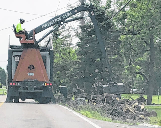 Scott Halasz | Greene County News While the cleanup continues along Kemp Road in Beavercreek, First Baptist Church of Kettering's Sugarcreek campus has been collecting items for those affected by the Memorial Day tornado.