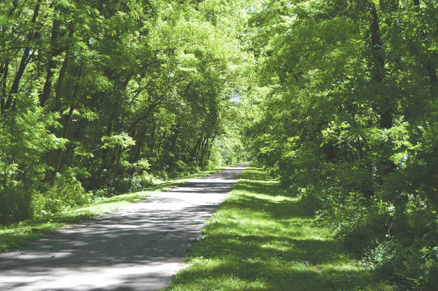 This was the first of what is hoped to be many tranquil and serene visits to the Greene County area's bike trails.