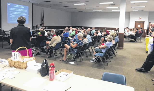 Submitted photo Greene County Republican Central Committee votes unanimously July 11 to appoint Stephanie Goff as county engineer.