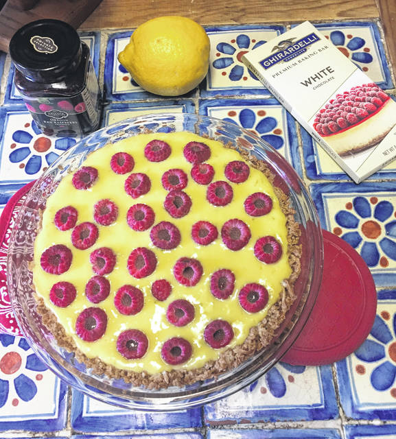 Provided photo This week, Kevin Williams provides the recipe of a prize-winning raspberry key lime pie.