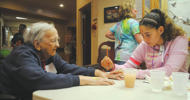 File photo Camp Ageless, slated for 10 a.m. to 2 p.m. Friday, Aug. 9, brings together some of Fairborn's youngest to interact and play with some of Fairborn's eldest to combat ageism.