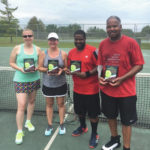 Several league tennis champs crowned