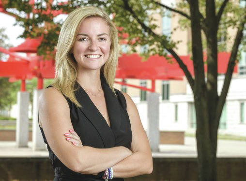 Submitted photo Wright State MBA student Mandy Shoopman has organized the Dayton Tornado Relief 5K/10K Run/Walk Benefiting The Foodbank on Sept. 15 beginning at Island MetroPark in Dayton.