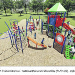 Party to debut fairgrounds' playground