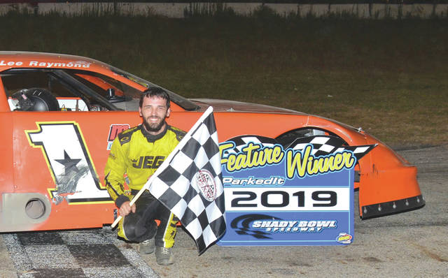 Ryan Fleming, of Xenia, won the late model feature Aug. 10 at Shady Bowl in DeGraff.
