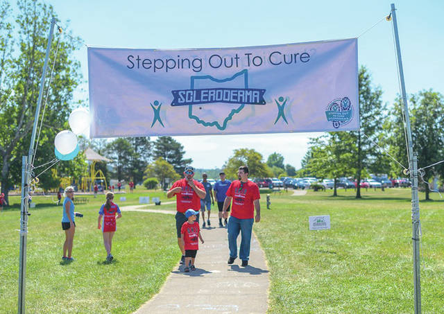 Submitted photos The Scleroderma Foundation of Greater Dayton recently hosted the 8th Annual Greater Dayton Stepping Out to Cure Scleroderma — an run/walk, family-friendly event aimed at raising funds for a cure to Scleroderma. Photos were taken by Laura Dell of 19/19 Photography.