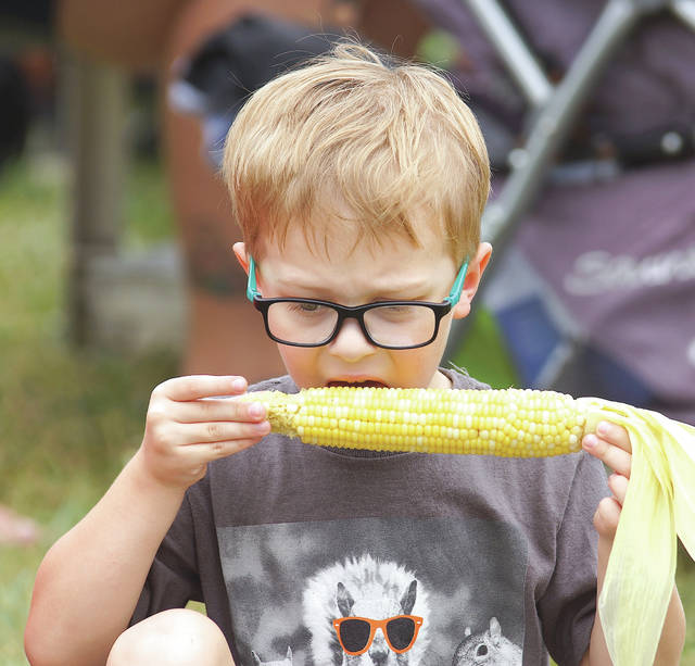 Barb Slone | Greene County News The 38th Annual Fairborn Sweet Corn Festival took place Aug. 17-Aug. 18 at Community Park, drawing a crowd to the community where they enjoyed a number of corny delicacies, live entertainment, a corn eating contest and more.