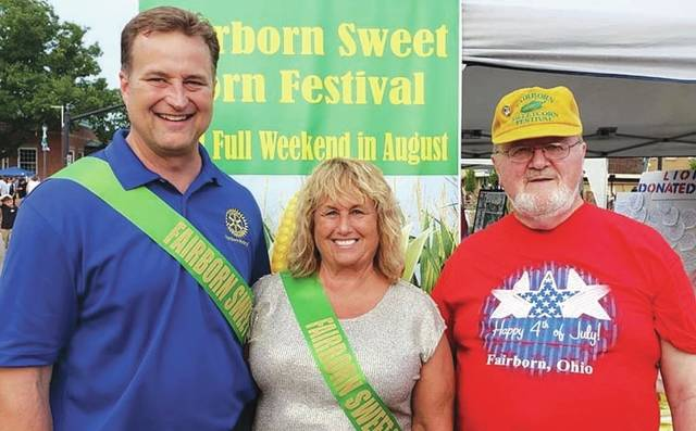 Jamie Hensley and Linda Hall have been crowned the 2019 Sweet Corn Festival King and Queen. Jamie Hensley and Linda Hall, the Sweet Corn Festival king and queen, alongside Warren Brown, Sweet Corn Festival chair-person.