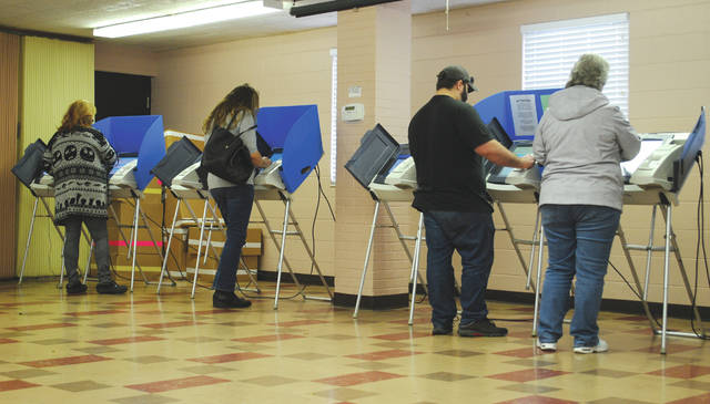 File photo Election Day is Tuesday, Nov. 5.