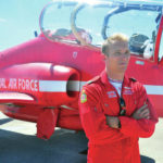 Red Arrows jet team makes stop in Dayton
