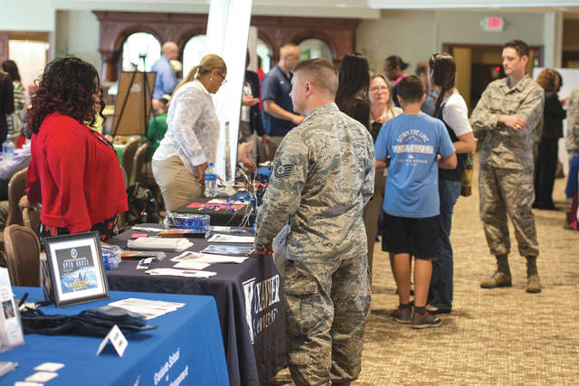 Submitted photo Advisors from more than 50 colleges will be on hand to provide information on educational development opportunities and various career programs at the annual 88th Force Support Squadron's Education and Training Fair on Thursday, Oct. 24 from 10 a.m. to 2 p.m. at the National Museum of the United States Air Force.