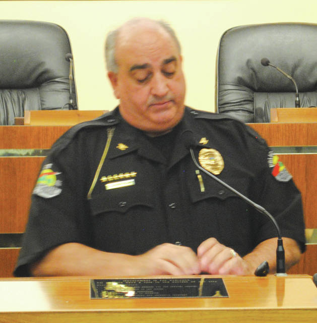 Whitney Vickers | Greene County News Fairborn Police Chief Terry Barlow.