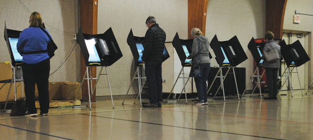 Whitney Vickers | Greene County News Fairborn citizens took to the polls Nov. 5 to vote in the local election. On the ballot included items that will decide three city council members and one Bath Township trustee, who are each running in contested races.