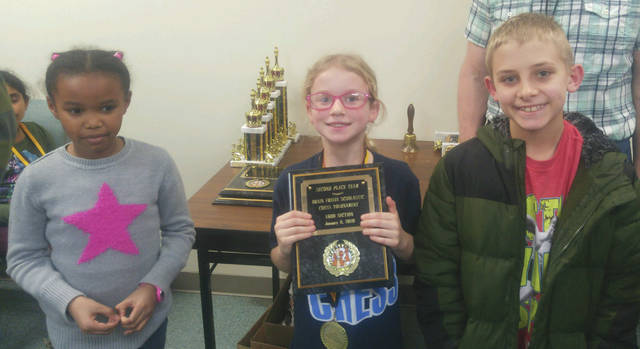 Submitted photo The Fairborn Skyhawk Chess Club recently competed at the Brain Freeze Scholastic Tournament in Reynolsburg.
