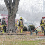 Mann Ave. home feared total loss