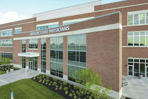 Submitted photo Student Health Services has moved into the Wright State Physicians Health Center building at 725 University Boulevard, next to the Rinzler Student Sports Complex on campus.
