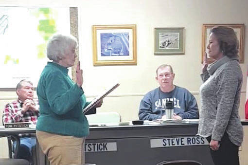 Submitted photo Kassie Lester was elected during the Nov. 2019 election to serve as a township trustee. She was sworn-in during the 2020 re-organizational meeting.