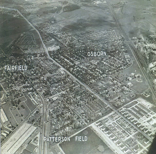 """Photos courtesy of """"The Fairborn Story"""" by Mary Parker Poole provided by the Fairborn Area Historical Society The Villages of Fairfield and Osborn before the merge took place."""