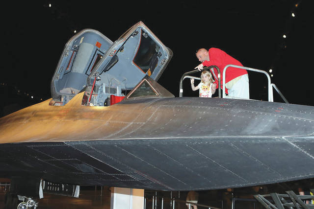 """Submitted photo See inside the SR-71 cockpit; learn about the U-2, former reconnaissance satellites and more during """"Secrets Revealed"""" event March 7-8 at the National Museum of the U.S. Air Force."""