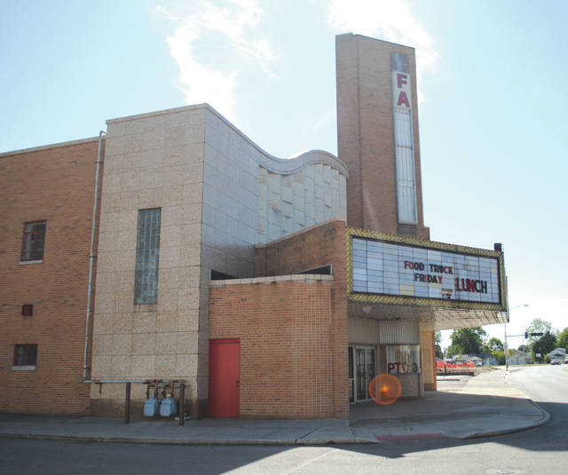File photo City Manager Rob Anderson spoke specifically about the Fairborn Theatre on Broad Street in the video submission application for HGTV's Hometown Takeover.