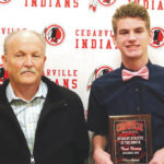 Cedarville's Trent Koning named Athlete of the Month