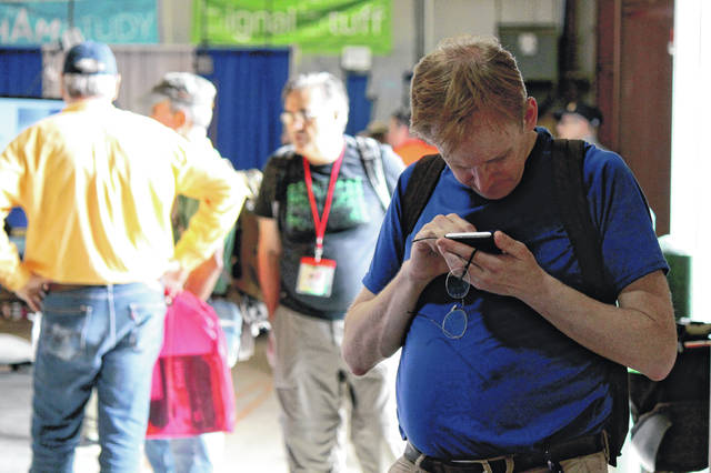 "File photo Amateur radio operators or ""hams"" travel from all over the world to make it to the Greene County Fairgrounds for Dayton Hamvention. This May's convention has been canceled due to the coronavirus outbreak."