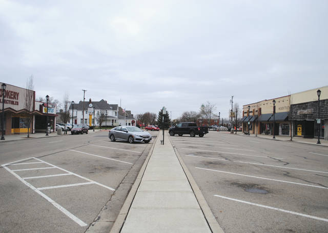 Whitney Vickers | Greene County News Fairborn streets are emptier than usual since the start of the COVID-19 pandemic.