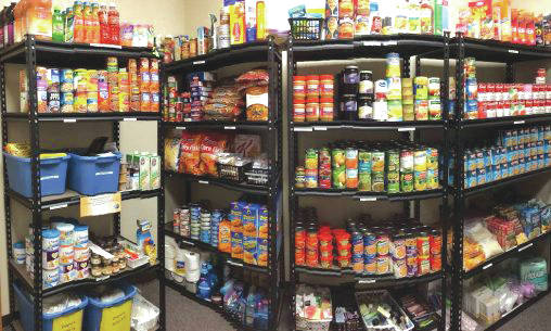 Submitted photo With regular operations and supplies interrupted, the pantry is operating differently at this time but is still supporting students in need. Students may call Student Advocacy and make a request for emergency bags at 937-260-0167. Once a request has been made, students are directed to pick up their food at the Residence Life and Housing package pick-up area weekdays from 9 a.m. to 4:30 p.m.