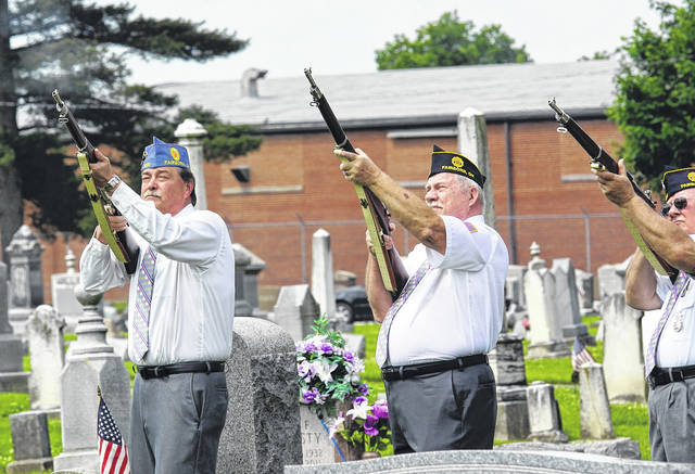 File photos Fairborn's Memorial Day ceremony, hosted by American Legion Post 526, will be a virtual event this year. Veterans won't be forgotten this year, even if the traditional Memorial Day ceremony won't be happening at Fairfield Cemetery.