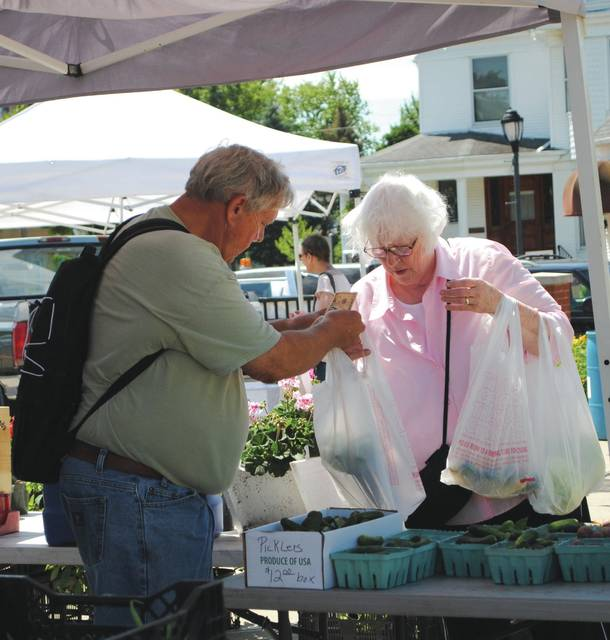 The Fairborn farmers market is located inside Main Street Commons at the corner of Main Street and Grand Avenue.