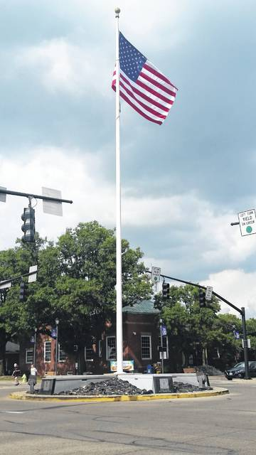 London Bishop | Greene County News American Legion Post 526 will conduct a Fourth of July ceremony around the flagpole at the center of downtown Fairborn.