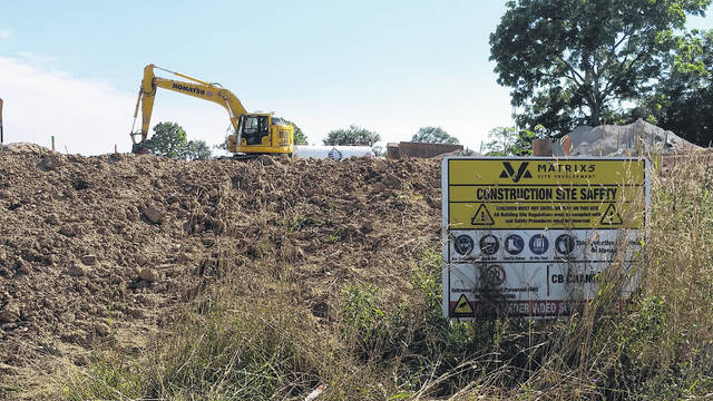London Bishop | Greene County News Design Homes and Matrix 5 have begun construction on Yellow Springs Fairfield Road to build an extension of Waterford Landing.