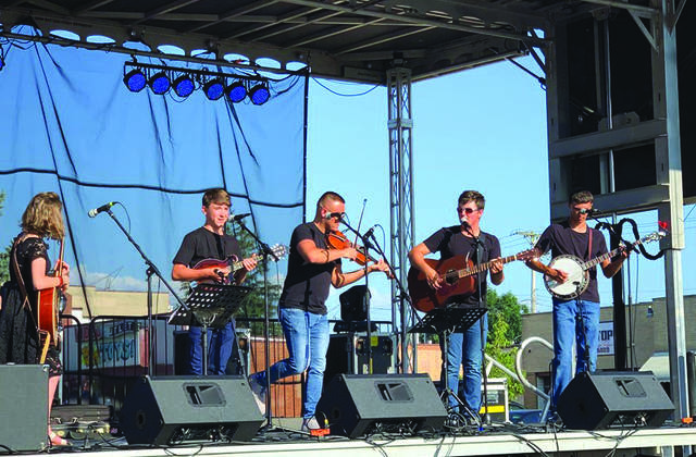 File photo Musicians perform during the 2019 Bluegrass and Brews Festival. The 2020 festival has been cancelled due to concerns over coronavirus.