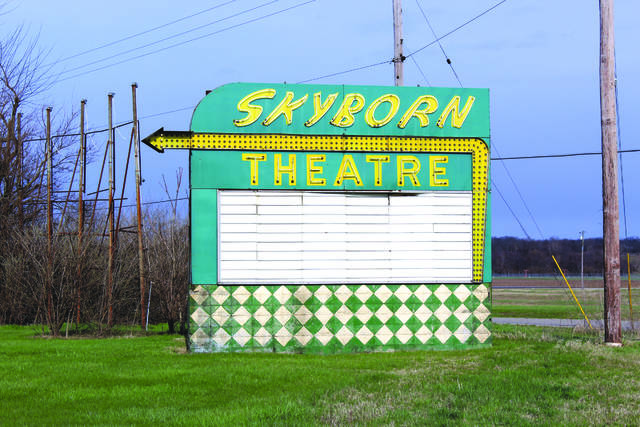 File photo The Skyborn Drive-in Theatre is full of memories for people like Ann Kinsel Wright.