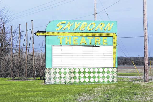 File photo  The FAHS needs $4,000 to relocate and preserve the Skyborn Theatre marquee.