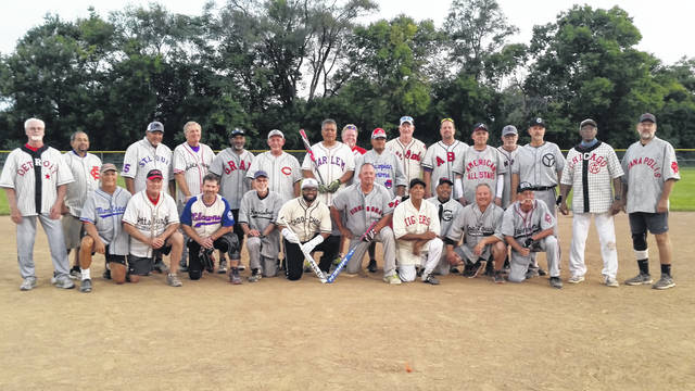 London Bishop | Greene County News The Senior 60s Softball League wore historic replica jerseys from over 40 teams from Negro League Baseball.