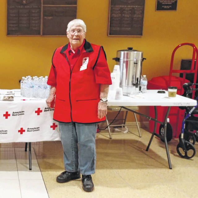 Submitted photo Loretta Johnson volunteered with the Red Cross for more than 70 years.
