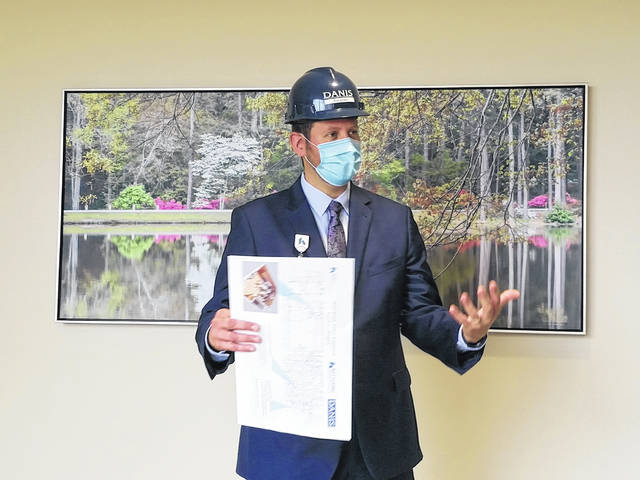 """During a tour of the enhanced ICU and surgical tower at Soin Medical Center Sept. 2, Soin President Rick Dodds said, """"The services we provide here will complement what is needed in the community right now."""""""