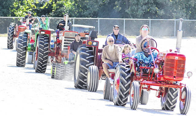 File photo Held the last weekend of September at the Greene County Fairgrounds every year — except in 2000 and 2020 — Old Timers Days attracts visitors for tractor pulls, threshing and saw mill demonstrations, and entertainment. The show will be back September 2021.
