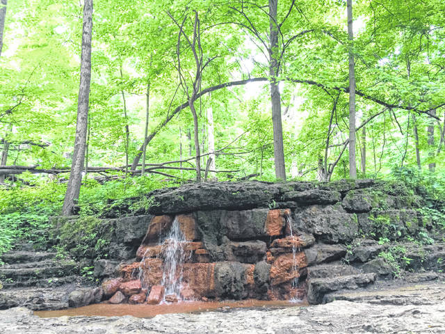 Anna Bolton | Greene County News The springs inside Glen Helen, pictured prior to the pandemic, will once again have visitors beginning next week. The Glen Helen Association finalized the purchase of the nature preserve Friday.