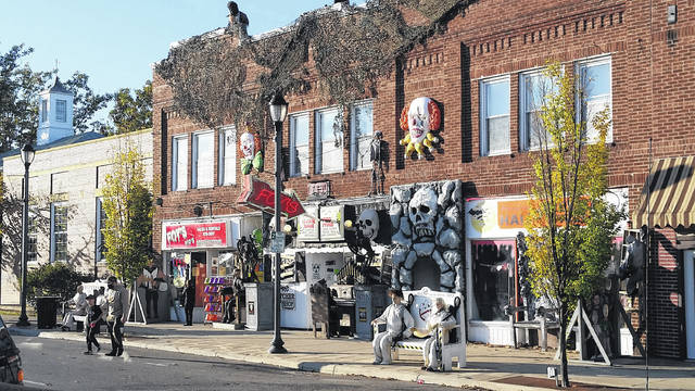 Halloween isn't canceled in Fairborn. Downtown Fairborn is getting spooky for the season. Passersby can check out various decorations outside of Foy's Halloween and Variety Store and beyond.