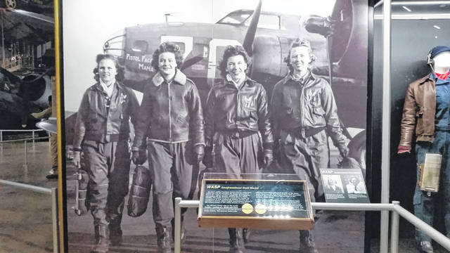 The WASP display currently in the U.S. Air Force Museum. The Women in the Air Force museum will bring several new displays to galleries at the museum by 2021.