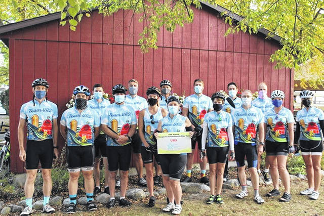 Four local charities benefited from the Bike Ride: The Alzheimer's Association, the Juvenile Diabetes Research Foundation, United Rehabilitation Services, and South Community Behavioral Services.